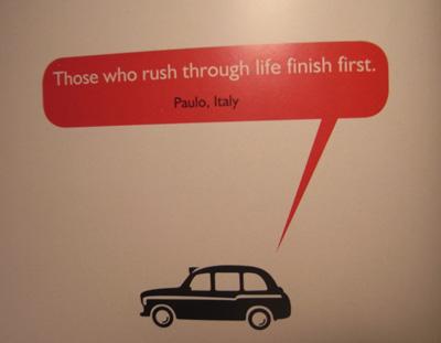 Black Cab Wisdom - Quote 1