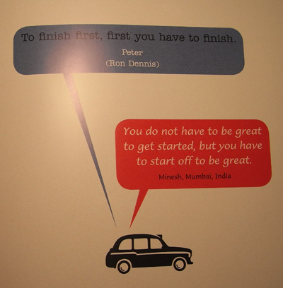 Black Cab Wisdom - Quote 2