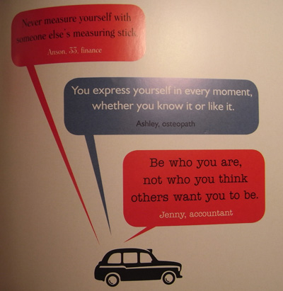 Black Cab Wisdom - Quote 3