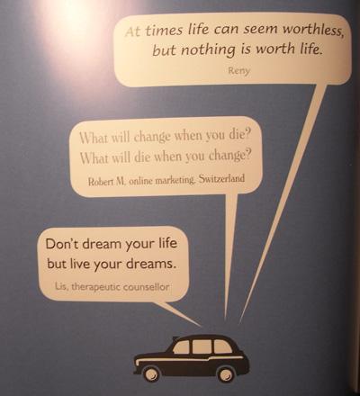 Black Cab Wisdom - Quote 4
